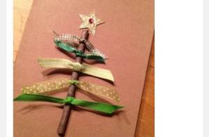 An example of one of our Homestead Christmas crafts.