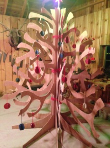 "Our ""wood"" tree."