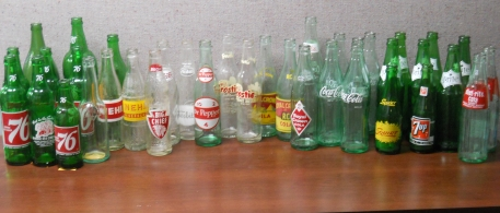 New bottles added to the collection. Donated by Robin Haight.